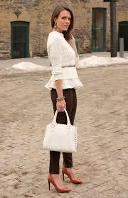 how to wear peplum tops in winter 15 stylish ideas