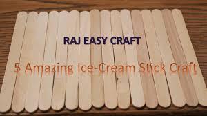 5 amazing ice cream stick craft 5 amazing ideas of popsicle