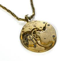 steampunk necklace vintage images Steampunk jewelry necklace vintage gold pocket watch womens steam jpg