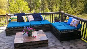 L Shaped Patio Furniture Cover - furniture best diy pallet outdoor furniture with l shape sofa