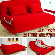 special offer multifunctional double cloth folding sofa bed is 1 2