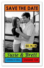 Save The Date Photo Magnets Save The Date Magnets For Your Wedding Magnetqueen