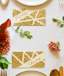 diy place cards real simple