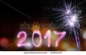 happy new year 2017 celebration theme stock photo 519611437