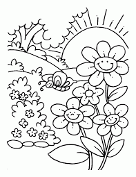 snoopy spring pictures kids coloring