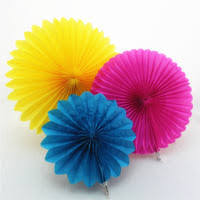 cheap paper fans paper fans rosettes shop cheap paper fans rosettes from