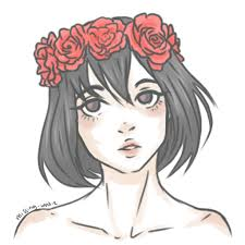 drawing flower crowns how to draw a flower crown i draw fashion