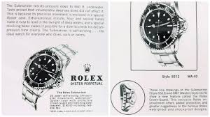 rolex ads the square crown guard on the submariner 5512 bob u0027s watches
