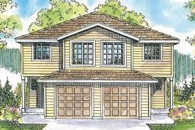 duplex house plans duplex plans duplex floor plans duplex plan toliver 60 020 front elevation