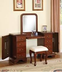 Vanity Mirror With Chair Amazon Com Powell Antique Black With Sand Through Terra Cotta