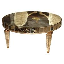 gold mirrored coffee table mesmerizing mirrored coffee table for