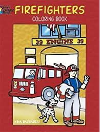 amazon firehouse coloring book dover coloring books