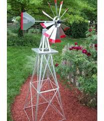 weathervanes six foot ornamental aluminum windmill small
