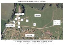 Challenge Site Site Plan Somerset And Wiltshire Land Rover Club