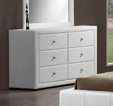 commode design 4 tiroirs blanche lutèce commode et coiffeuse