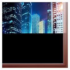 light blocking window film amazon com bdf blkt window film blackout privacy 36 x 9ft home