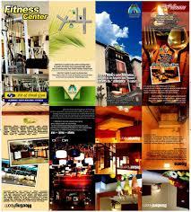 contoh desain brosur hotel brosur palm hotel ressolusi adverything
