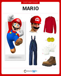 Mario Costume Dress Like Mario Costume Halloween And Cosplay Guides