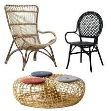 chaise en rotin ikea chaises osier chaise bistrot thonet bois brut en osier et bois de