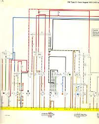 1973 74 bus wiring diagram thegoldenbug com