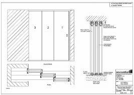 aluminium sliding door section dwg designs
