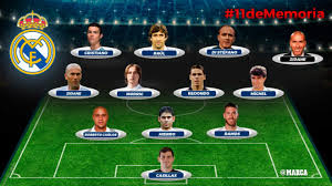 Real Madrid Real Madrid Readers Their All Time Real Madrid Xi Marca In
