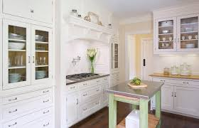 vintage glass front kitchen cabinets vintage kitchen traditional kitchen by
