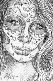 angel coloring pages realistic realistic sugar skull by