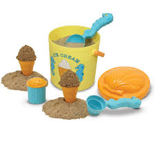 5 year old girls love ice cream so they will enjoy this sand ice