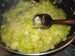 poireaux cuisine fondue de poireaux la cuisine des jours