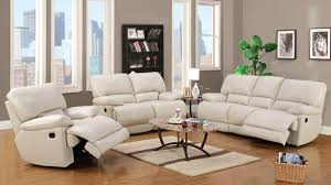 Grey Leather Reclining Sofa by Liam Light Grey Recliner Sofa Furtado Furniture