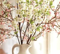 cherry blossom home decor spring decor ideas flowering springtime branches starfish cottage