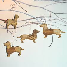 dachshund christmas decorations christmas lights card and decore