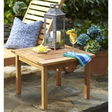 Patio Side Table Hexagon Patio Table Wayfair