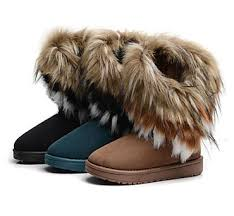 s boots with fur fashion s winter fringe boots faux fur cuff lining