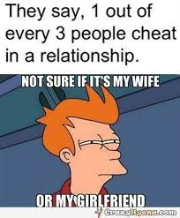 Cheater Meme - who s the cheater now