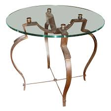 wrought iron coffee table with glass top raymond subes wrought iron coffee table with glass top galerie