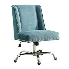 silver desk chair metal