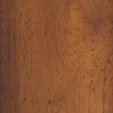 Hickory Laminate Flooring Lowes Shop Allen Roth Cinnamon Hickory Embossed Laminate Floor Wood