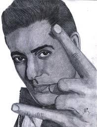 khan drawing by bobby dar