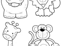 coloring animals coloring pages kids pages2 jungle to colour