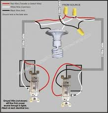 Kitchen Light Switches 3 Way Switch Wiring For Kitchen Light Electrical Diy