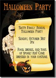 5 best images of halloween birthday party printable invitation