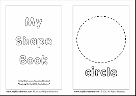 shapes coloring pages for preschoolers
