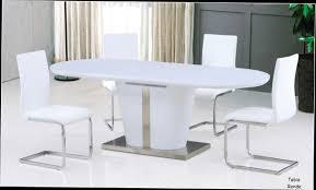 table de cuisine blanche avec rallonge table de salle manger avec rallonge pas inspirations et table de