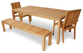 Outdoor Teak Table Outdoor Teak Furniture Placement And Materials Home Design By Fuller