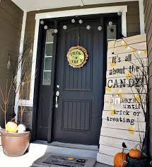 Door Decorations For Halloween 35 Awesome Halloween Front Door Ideas Home Design And Interior