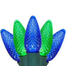 christmas led blue green lights wire christmas light spools
