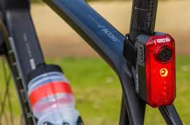 fly bike light camera interbike trade show unveils future bike gear