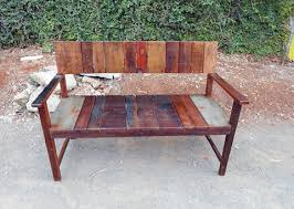 Hardwood Garden Benches 37 Remarkable Reclaimed Wood Benches